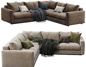 Ferlea Sofa Simple 2 color version 3D