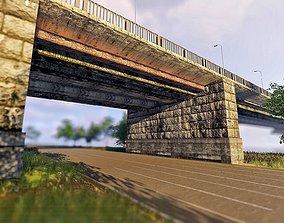 3D model Bridge Patona Most Kiev Ukraine