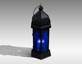 Moroccan Lantern 3D asset