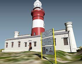 3D model Cape Aghulas Lighthouse