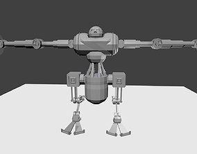 Battle-Mech 3D model