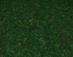 3D ground grass tile 37
