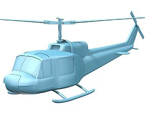 3D printable model Bell 204 UH-1B Iroquis Huey