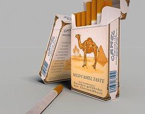 3D Camel mild cigarette pack