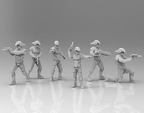 Ancient Light Troopers 3D printable model figurines