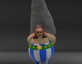3D print model obelix