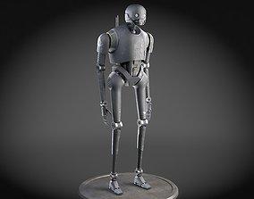 3D model StarWars K2SO droid