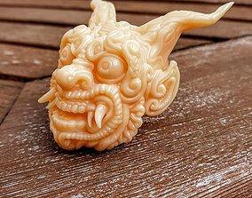 3D print model Bali head