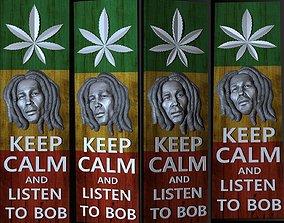 3D portrait Bob Marley gallery