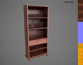 3D model Wooden Shelf PBR