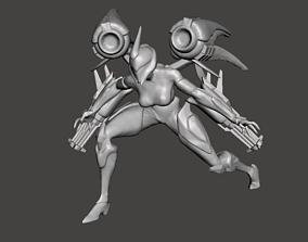 Bullet Angel Kaisa 3D Model