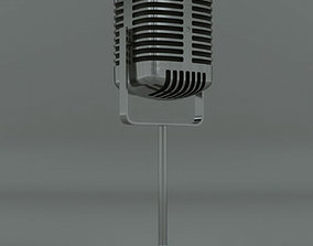 Microphone 3D Model musical