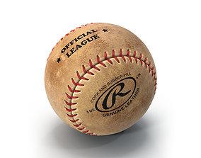 3D model Baseball Ball Rawlings