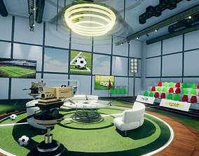 Soccer Studio Set Unity 3D asset