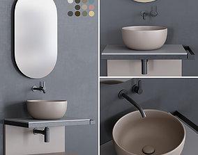 Ceramica Cielo Multiplo set 2 3D model