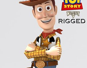 Woody rigged 3D