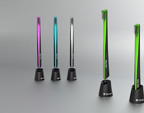 plastic Toothbrush 3D model