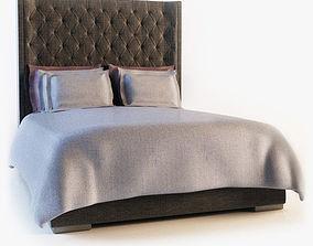 bedroom 3D model Meridiani - Thurman bed
