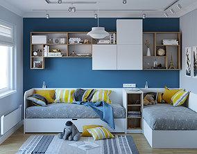 corona Kids Bedroom 3D