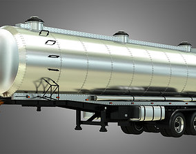 3D Tanker Semi Trailer