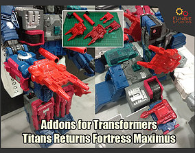3D printable model Addons for Transformers Titans Return 1