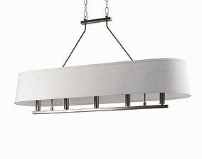 bronze Cherish chandelier 3D