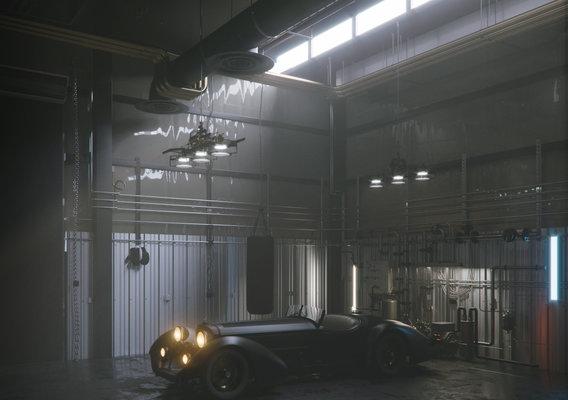 Garage 1940