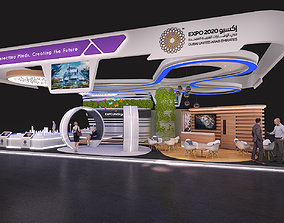 trade 3D model Exhibition Stands