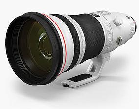 3D asset Canon EF 400mm f 2-8L IS II USM Super Telephoto