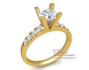 2099 Diamond Ring 3D printable model