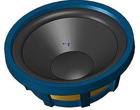 Soundstream SS12 Subwoofer 3D model