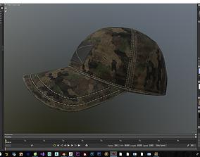 3D asset Hat Modeling for game