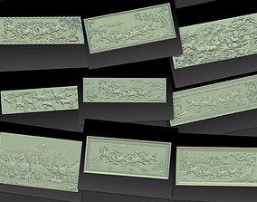 Horses Collection-9 pcs 3D print model