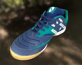 sport-shoe VR / AR ready Sport shoe low poly 3D model