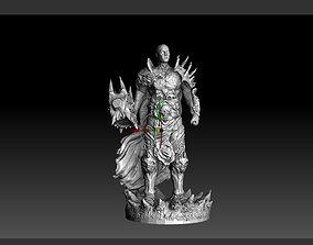 3D print model Bolvar Fordragon Lich King World of