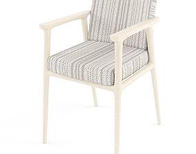 Comfort Wooden Zio Dining Chair 3D