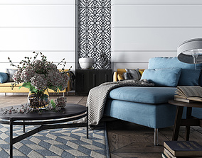 Living room 3D apartment