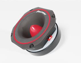Speaker Tweeter 02 - Blender 3d