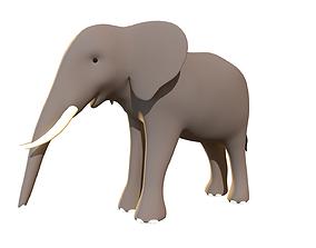 Elephant - Stylized 3D asset