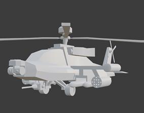 3D model Ah-64