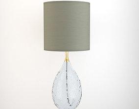 3D Elegant Faceted Glas Table Lamp
