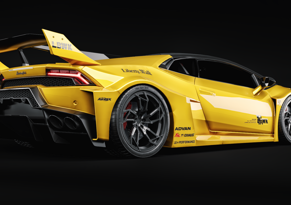 Lamborghini LB Silhouette Huracan