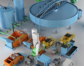 Industrial Coal Preparation Plant 3D