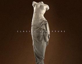 3D printable model Ancient sculpture of a woman