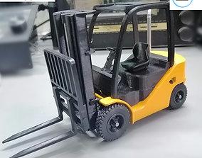 Clark S20 53 Forklift Truck - PRO 3D printable model