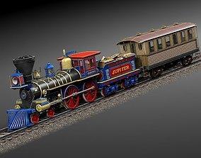 3D Jupiter Steam Train 1868
