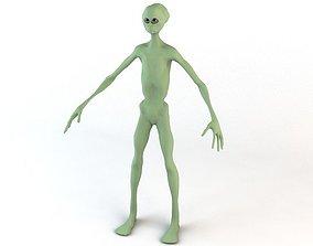 Alien Character 3D asset