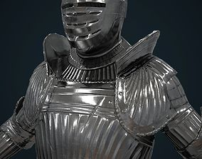 3D model Maximilian armor