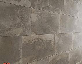 Slate Wall Tiles 3D model