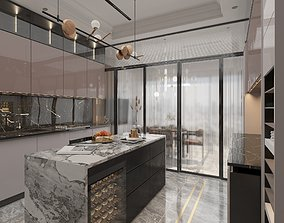 3D asset realtime Kitchen Modern